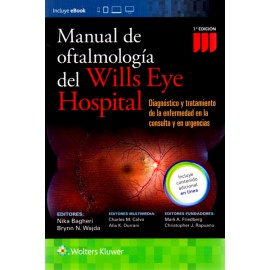 Manual de Oftalmologia del Wills Eye Hospital - Envío Gratuito