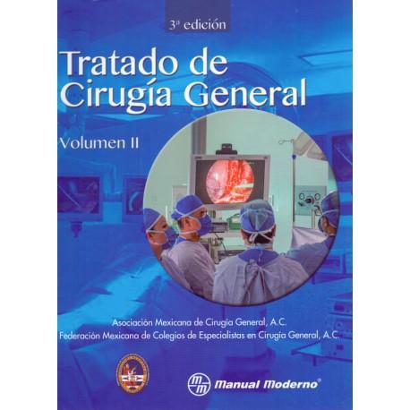Tratado de cirugía general. 2 Volúmenes - Envío Gratuito