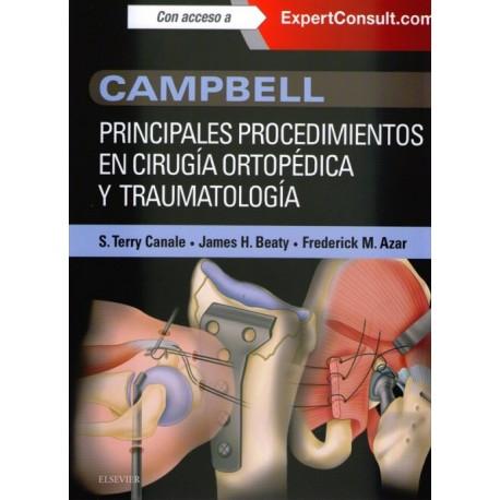 Campbell. Principales procedimientos en cirugía ortopédica y traumatología - Envío Gratuito