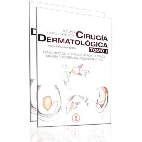 Atlas practico de cirugía dermatológica. 2 Tomos - Envío Gratuito