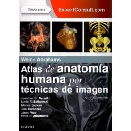 Weir y Abrahams. Atlas de Anatomía Humana por Técnicas de Imagen - Envío Gratuito