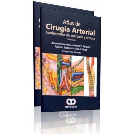 Atlas de cirugía de las arterias. Fundamentos de anatomía y técnica 2 Volúmenes - Envío Gratuito