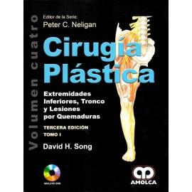 Cirugía Plástica. Extremidades Inferiores, Tronco y Lesiones por Quemaduras 2 Tomos Amolca - Envío Gratuito