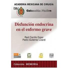 CPAMC: Disfunción endocrina en el enfermo grave