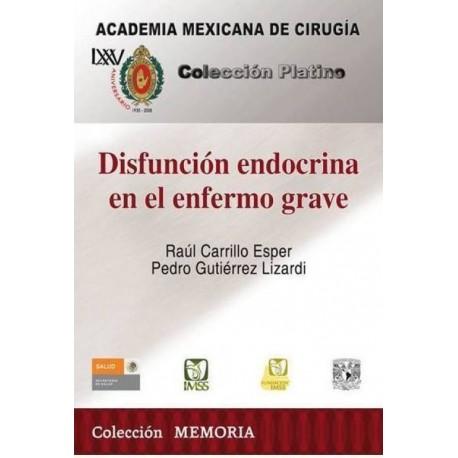 CPAMC: Disfunción endocrina en el enfermo grave - Envío Gratuito