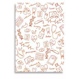 Mini Cuaderno de Notas (red) - Envío Gratuito