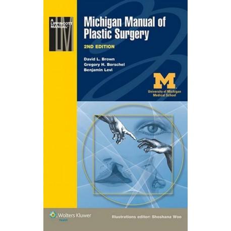 Michigan Manual of Plastic Surgery Lippincott - Envío Gratuito