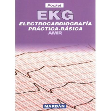 EKG. Electrocardiografía Práctica Básica AMIR Pocket - Envío Gratuito