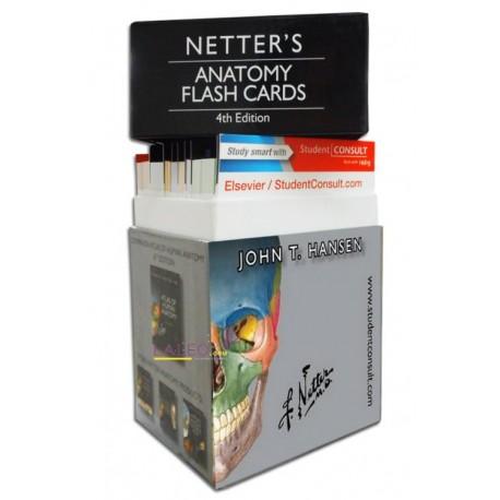 Netter Anatomy Flash Cards - Envío Gratuito