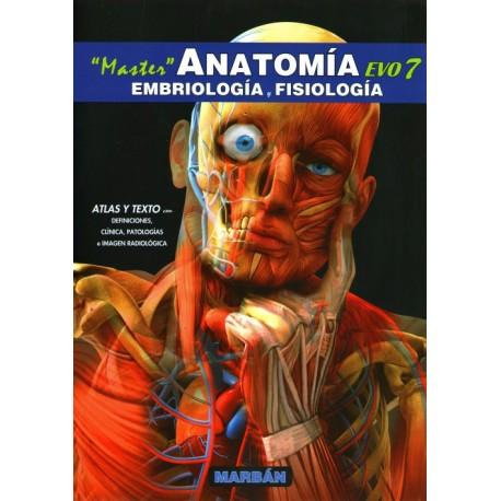 Master EVO7. Anatomía, Embriología y Fisiología - Envío Gratuito