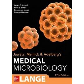 LANGE. Medical Microbiology. Jawetz Melnick & Adelbergs - Envío Gratuito