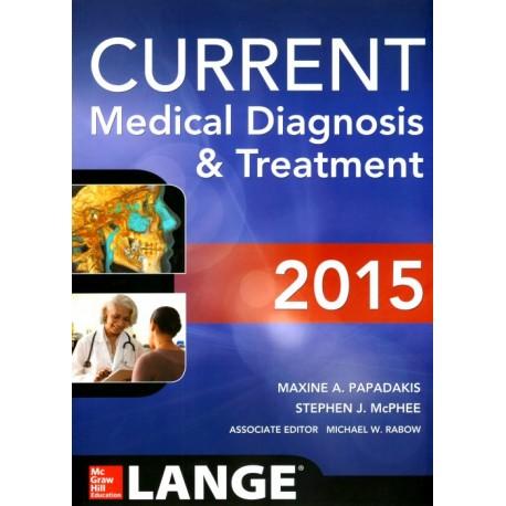 CURRENT. Medical Diagnosis and Treatment Lange 2015 - Envío Gratuito