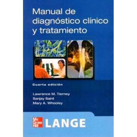 LANGE. Manual de diagnóstico y tratamiento - Envío Gratuito