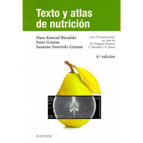 Texto y atlas de nutrición - Envío Gratuito