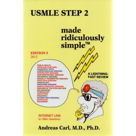 USMLE Step 2 Made Ridiculously Simple - Envío Gratuito