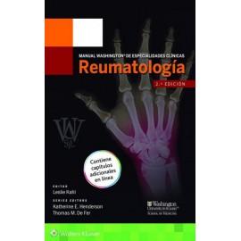 Manual Washington de especialidades clínicas: Reumatología - Envío Gratuito