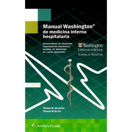 Manual Washington de medicina interna hospitalaria - Envío Gratuito