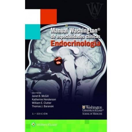 Manual Washington de especialidades clínicas. Endocrinología - Envío Gratuito