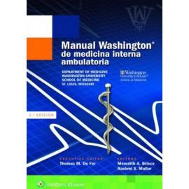 Manual Washington de medicina interna ambulatoria - Envío Gratuito
