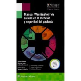 Manual Washington de calidad en la atención y seguridad del paciente - Envío Gratuito