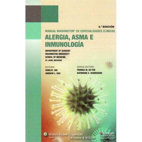 Manual Washington de especialidades clínicas. Alergia, asma e inmunología - Envío Gratuito