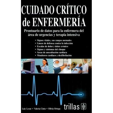 Cuidado Critico de Enfermería - Envío Gratuito