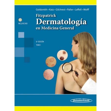 Fitzpatrick. Dermatología en Medicina General Tomo I - Envío Gratuito