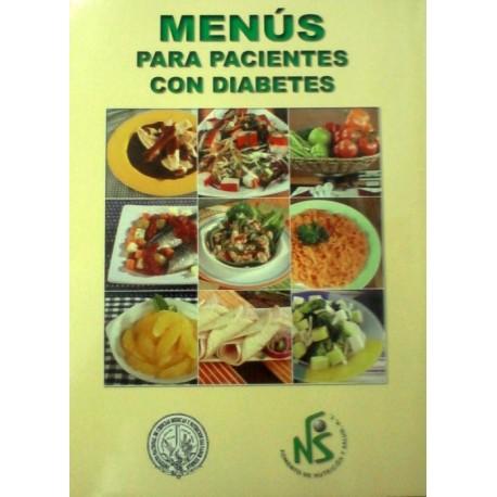 Menús para pacientes con diabetes - Envío Gratuito